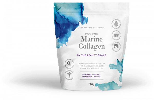 Pure marine collagen by The Beauty Shake transforms yours hair, skin and nails